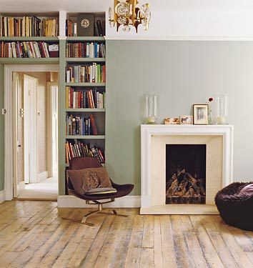 ... Minimalist Living Room: Farrow U0026 Ballu0027s U0027Blue Grayu0027 | By SarahKaron Part 51