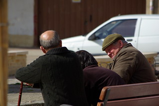 Old Men Chatting - Picos de Europa | by The Hungry Cyclist