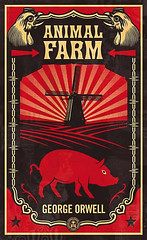 penguin.animal.farm.shepard.fairey | by thefoxling