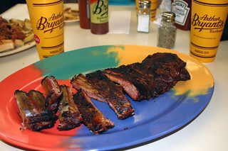 BBQ spare ribs at Arthur Bryant's | by Mike Willis