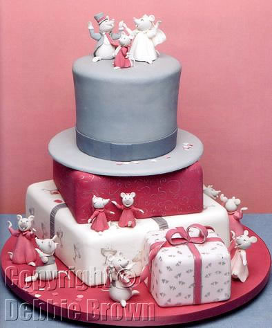 debbie brown wedding cakes mouse from wedding cakes debbie brown s 13367