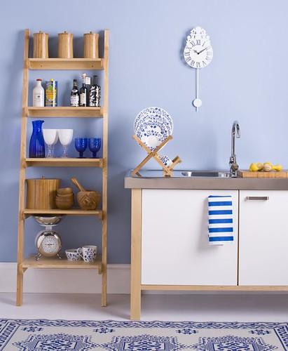Cheerful Blue Kitchen Farrow Amp Ball S Lulworth Blue