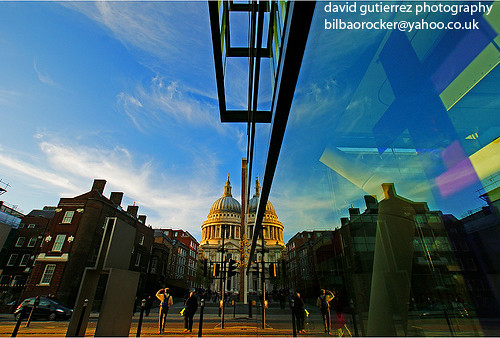 Daytime Reflection of London St.Pauls Cathedral | by davidgutierrez.co.uk