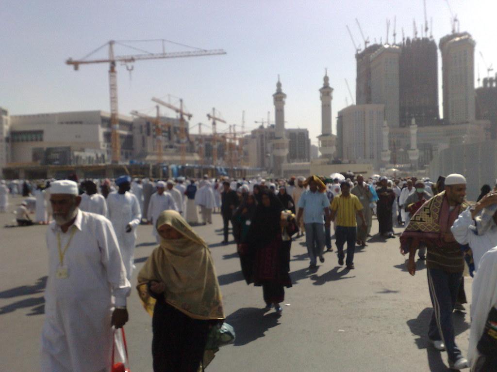 After Jummah Prayer In Makkah