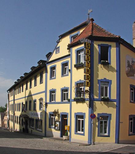 Hotel Gasthof Zur Post Hochstadt Ad Aisch