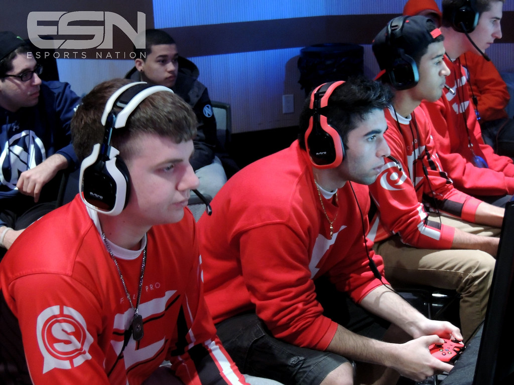 faze competitive the entire team looks completely focused flickr