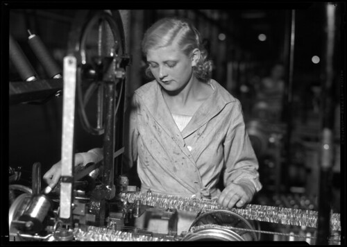 Woman with Machine (tinsel) | by George Eastman Museum