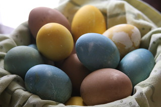 Naturally Dyed Easter Eggs | by protoflux