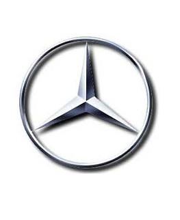 Mercedes Benz Logo Mercedes Benz Logo On White Background