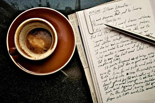Coffee and notes | by rahina