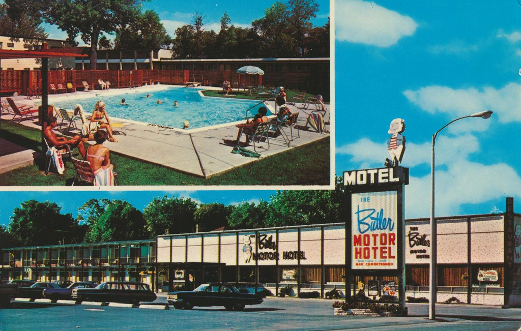 The Butler Motor Hotel - Ottawa, Ontario