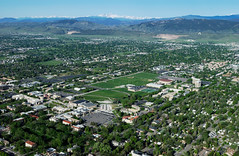 Aerial View of Colorado State University Campus | by ColoradoStateUniversity