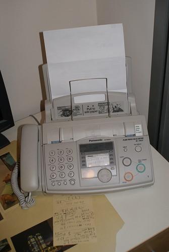 panasonic fax machine model