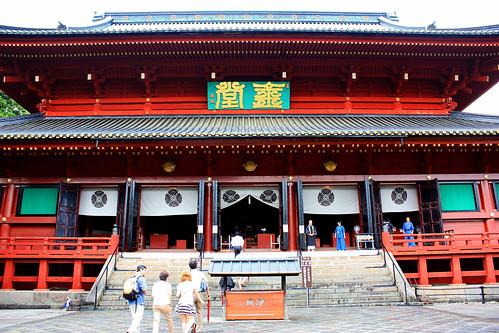 Sanbutsu-doh hall, Rinno-ji temple