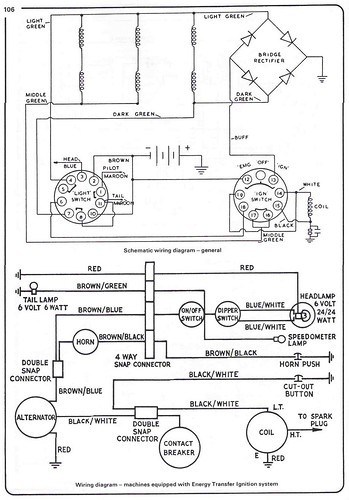 3311907432_f5bd627e52 triumph restoration flickr triumph tiger cub wiring diagram at creativeand.co
