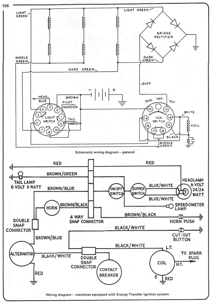 Triumph 350 Wiring Diagram