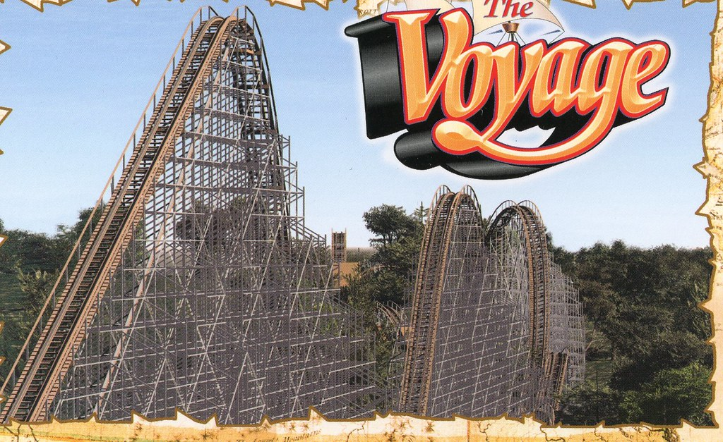 The voyage rollercoaster from holiday world theme park in flickr the voyage rollercoaster from holiday world theme park in usa from alimx007 by rubycantfail gumiabroncs Image collections