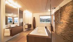 Musterhaus badezimmer  Musterhaus box Griffen Badezimmer | Die Zukunft der Architek… | Flickr