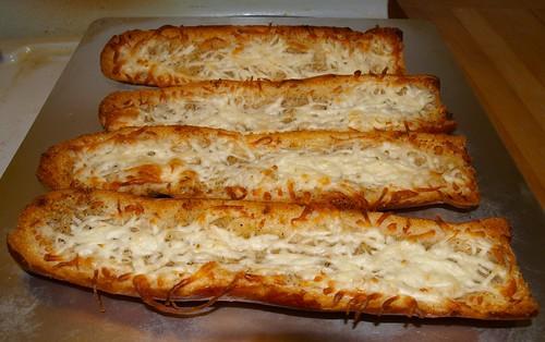 Cheesy Garlic Bread I Was Watching Pbs On Wttw Channel