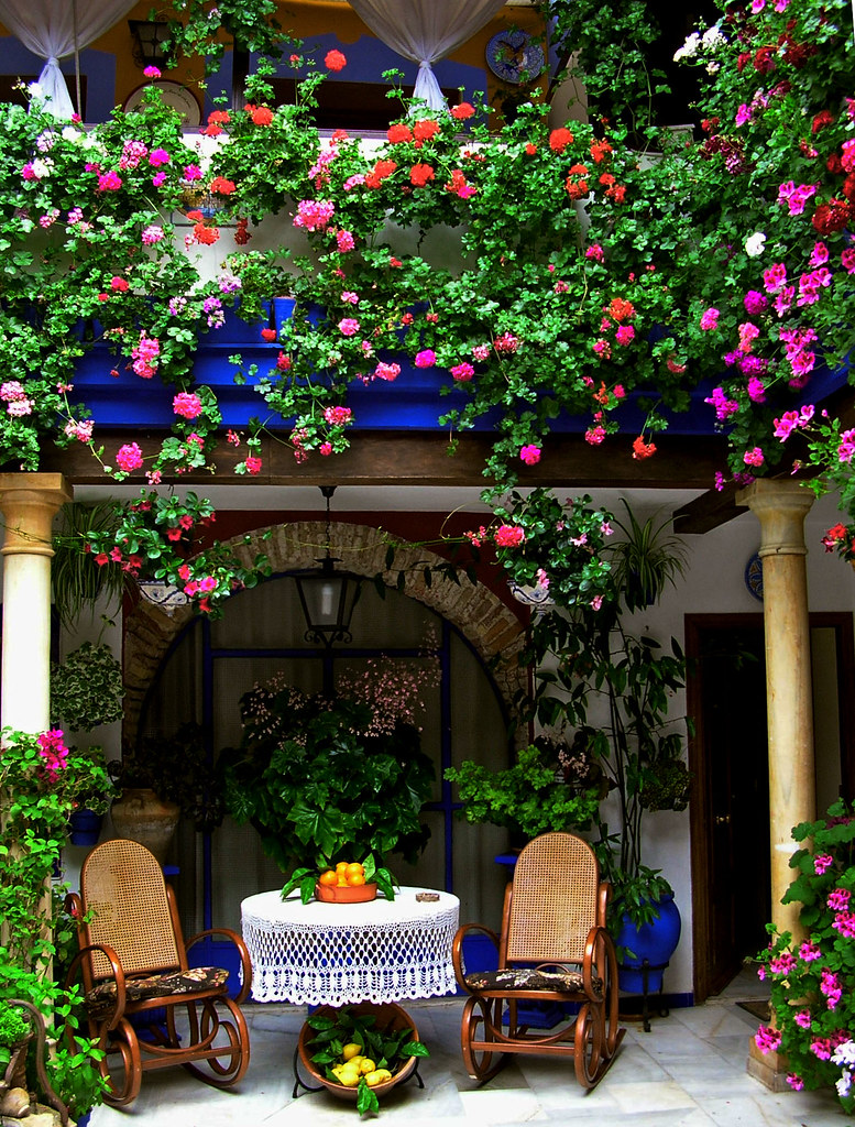 Patios Rejas Balcones Y Flores 3 Imaginando La Pare Flickr - Fotos-de-balcones-con-flores