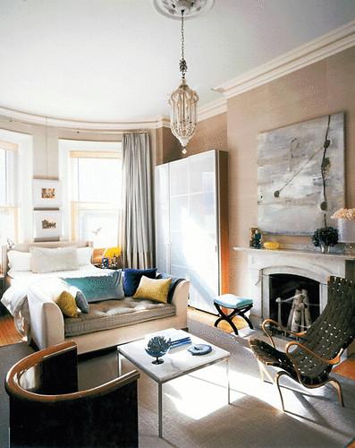 calm dreamy bedroom vintage modern mix luxe fabrics f