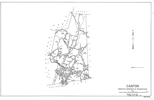 Town roads Canton/ Connecticut Department of Transportation 1971 | by uconnlibrarymagic