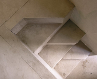 carlo scarpa, stairs at the palazzo steri entrance, palermo 1973-1978 | by seier+seier