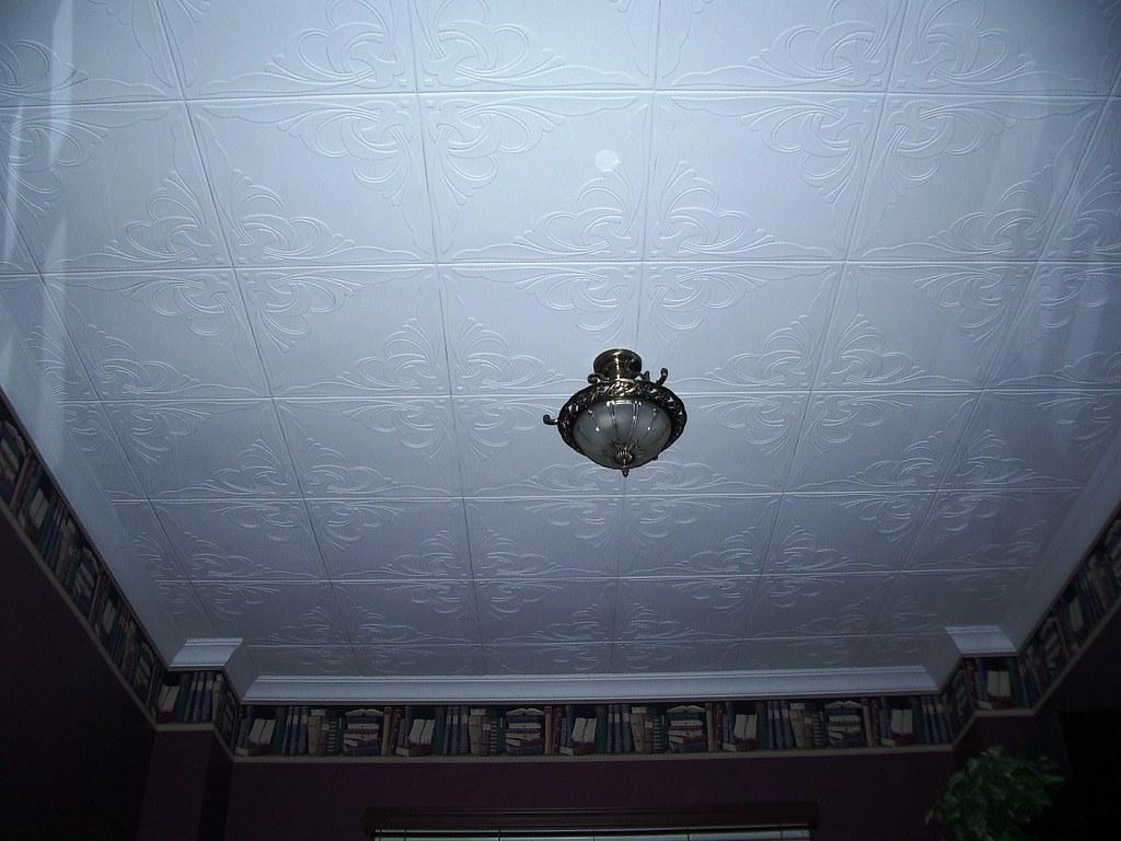 Cover Popcorn Ceiling R 81 Polystyrene Ceiling Tiles Flickr