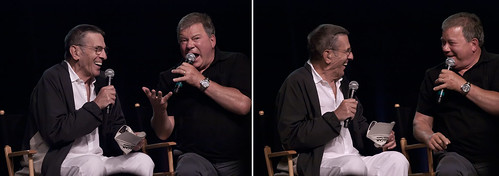 2. Nimoy and Shatner | by preloc and kanar