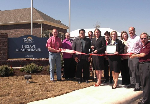 Pulte Homes Enclave At Stonehaven Ribbon Cutting