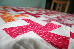 Cartwheel baby quilt | by turning*turning