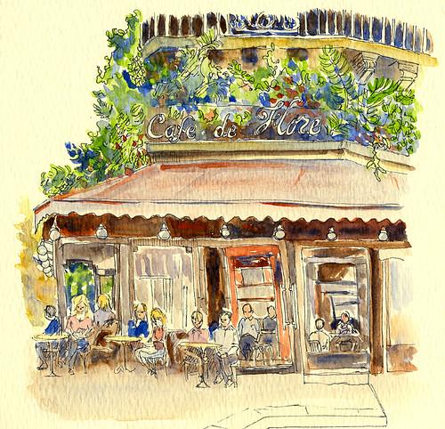 Cafe De Flore Stream