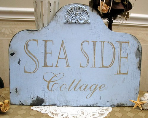 Seaside cottage | by SignsByDiane