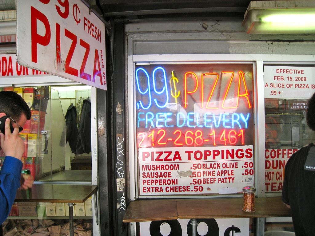 Pizza Vs 99 Cent