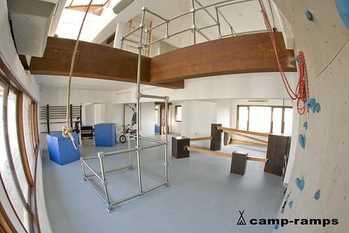 how to build a parkour gym