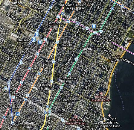 Manhattan, New York, NY, United States - Google Maps - Moz… | Flickr