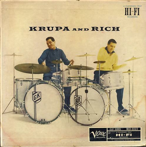 Gene Krupa Buddy Rich And Louis Bellson Kings Of Percussion