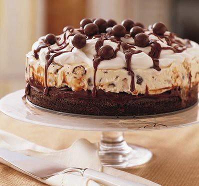 Chocolate Malt Ice Cream Cake 1 1 2 Cups Gold Medal 174 All