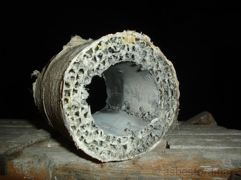 Asbestos Pipe Insulation Flickr
