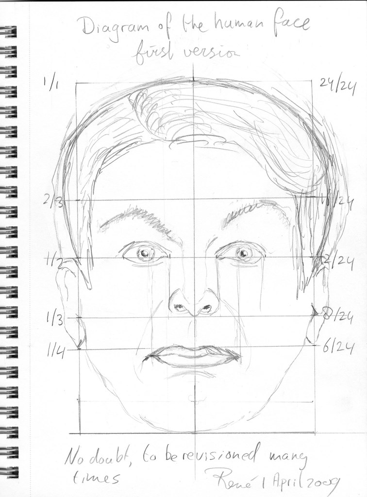 Diagram Of The Human Face You Can Read More About This Dra Flickr