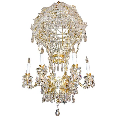 Montgolfier bros crystal hot air balloon chandelier flickr montgolfier bros crystal hot air balloon chandelier by lightning lighting aloadofball Choice Image