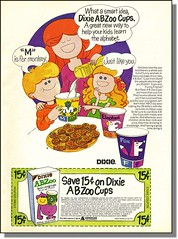 Dixie ABZoo Cups ad | by grickily