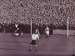 Wrexham v Manchester United FA Cup 4th Round Season 1956-7 | by Leslie Millman-Manchesterunitedman1