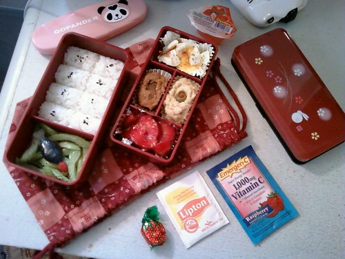 Bento #82: Japanese. Sorta. | by goblinbox_(queen_of_ad_hoc_bento)
