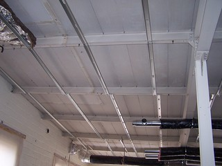 ceiling supports for insulation and drop ceiling | by tdclarke