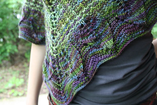 Ulmus in STR MW 'Puck's Mischief' & Silkie 'Jade' | by add_knitter