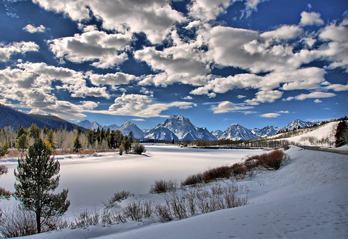 Late Afternoon at the Oxbow Bend | by Jeff Clow