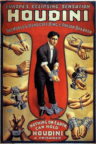 Houdini: Vaudeville poster | Peter Athas | Flickr