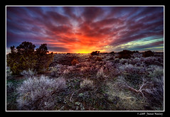 Lava Flow Sunset - hdr | by James Neeley