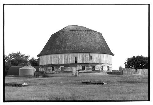 Cecil Baker Round Barn Part Of The North Dakota Round
